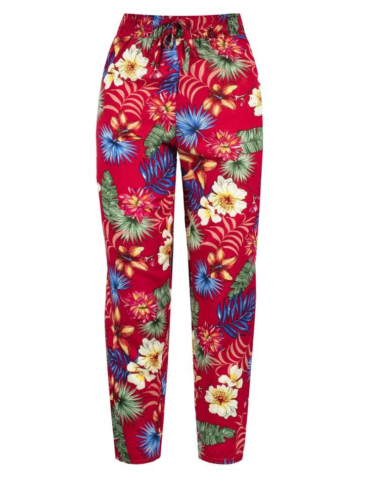 spodnie damskie w kwiaty TXM.pl